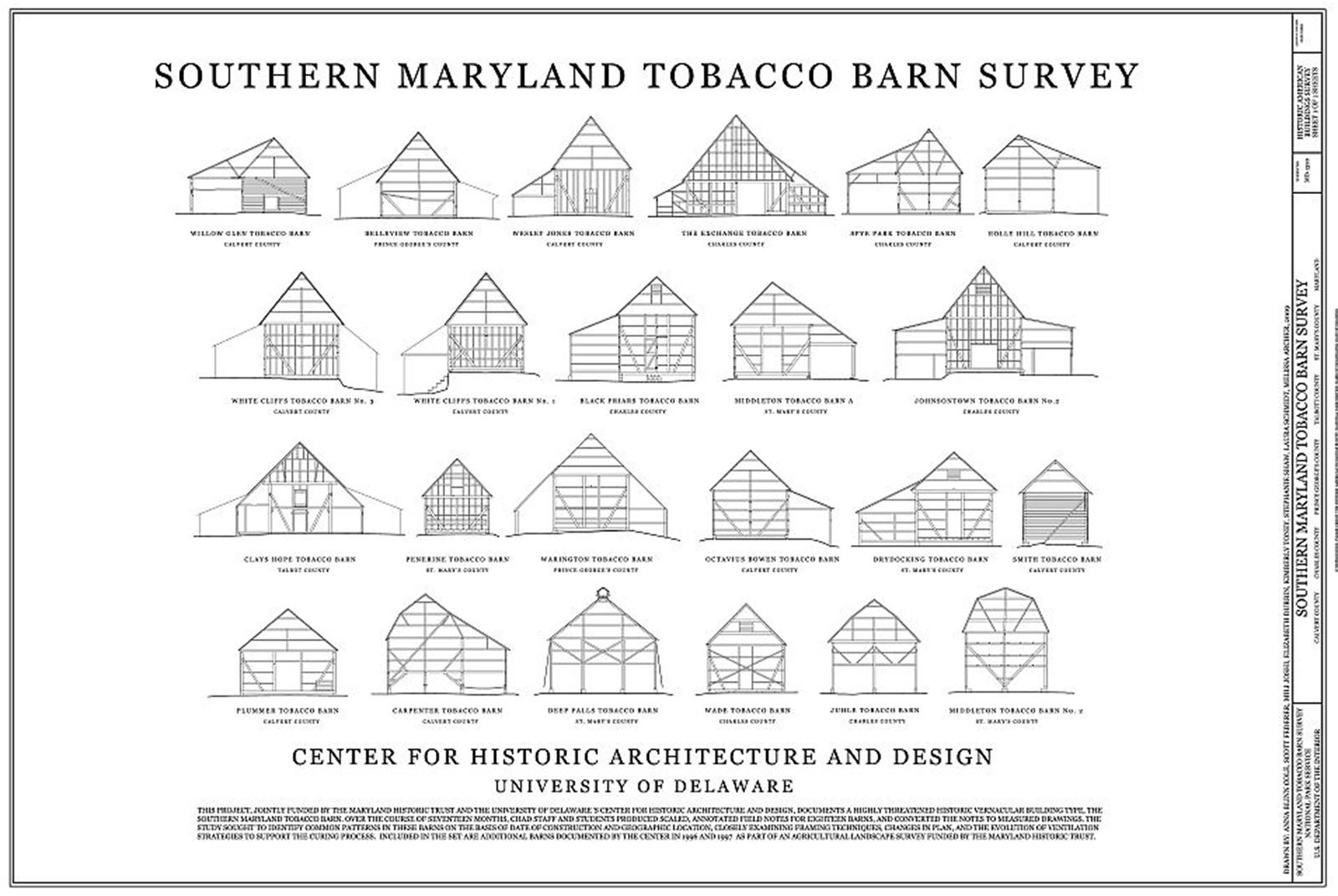 Falmanac february 2012 for Tobacco barn house plans