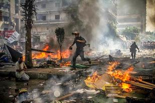 توثيق مجزرة رابعة بالصورة