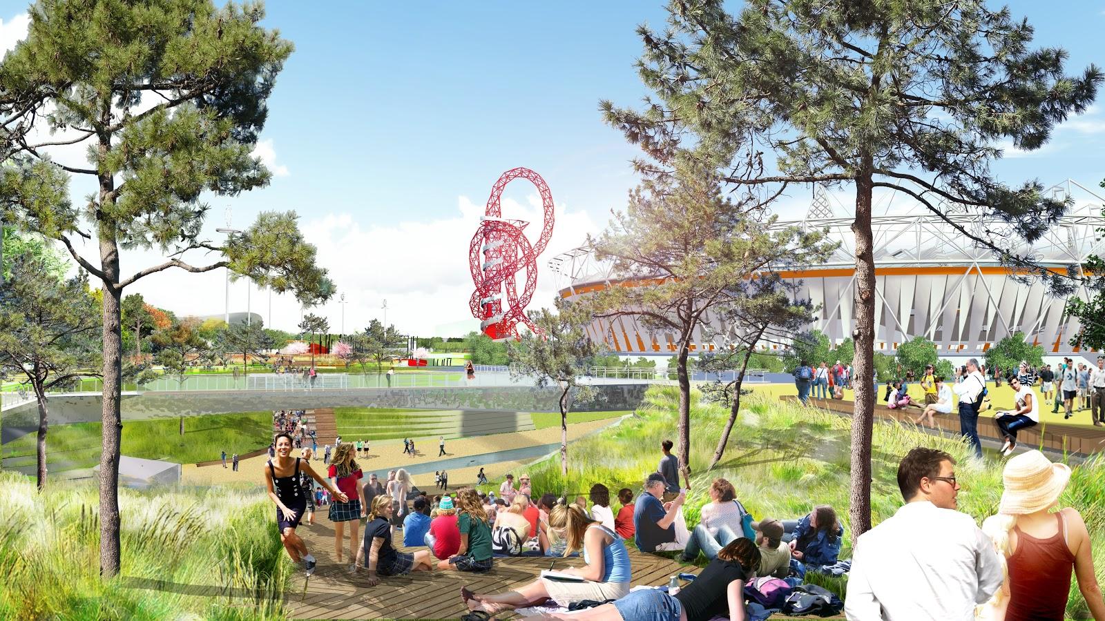 Park south plaza by day london legacy development corporation