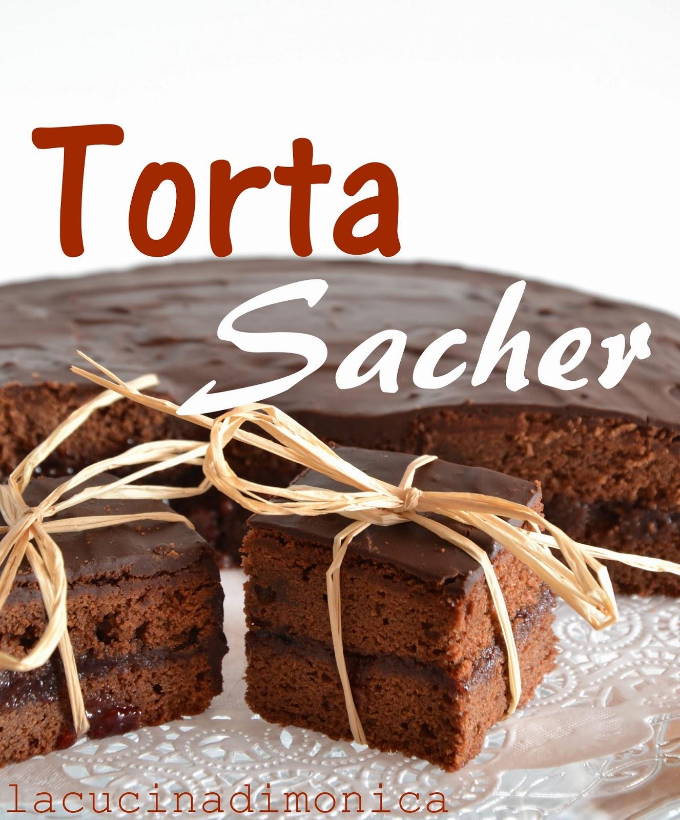 torta sacher - torta al cioccolato