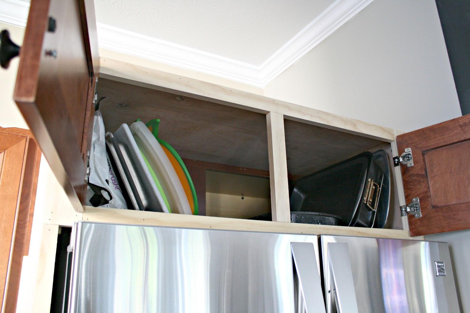 DIY built in fridge
