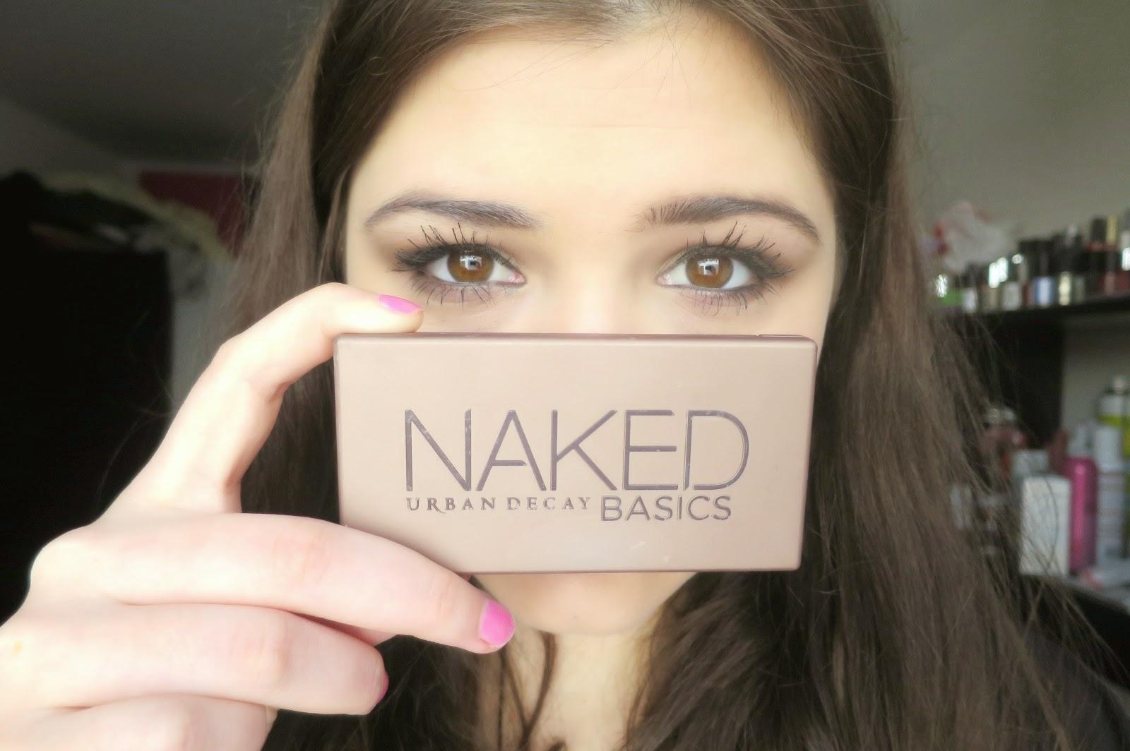 Lashes, Liner, Love.: Naked Basics Tutorial - Neutral Smokey Eye