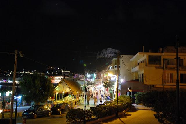 Вечерняя набережная, Херсонисос, Крит. Hersonissos, Crete