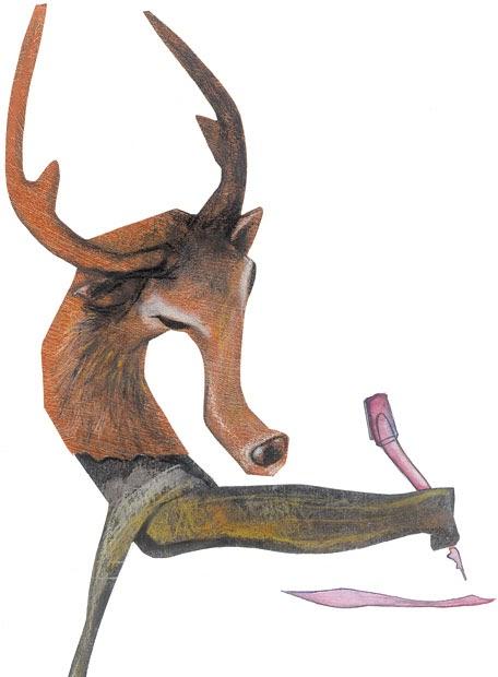 El blog de los animales olvidados un ciervo escondido liehts c 300 a c - La casa de los suenos olvidados ...