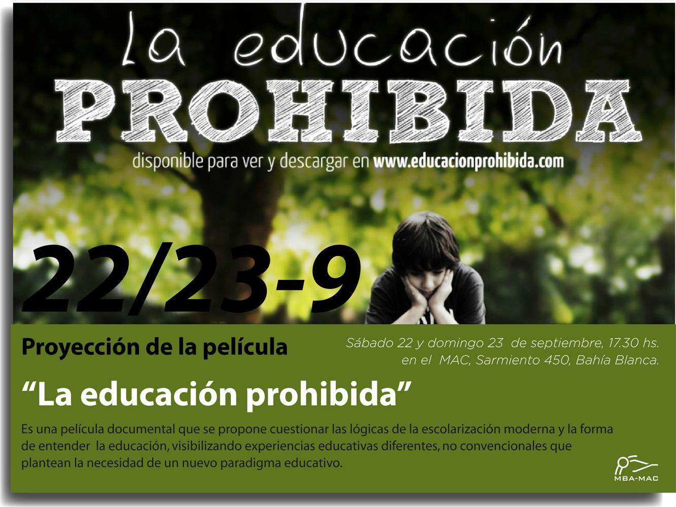 descargar pelicula la educacion prohibida gratis