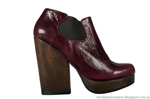 Moda botas, zapatos, botinetas invierno 2013