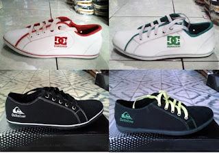 Sepatu Kets DC & Quiksiler
