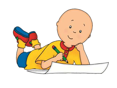 Cartoon Characters: Caillou PNG pack (revised)