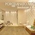 Porcelanato madeira em banheiros e lavabos – veja modelos lindos + dicas!