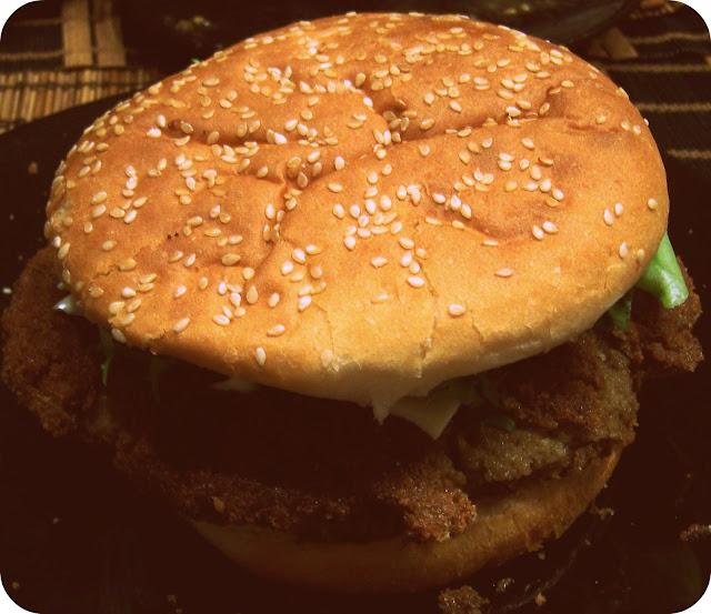 Veggie Burger de lentejas y setas