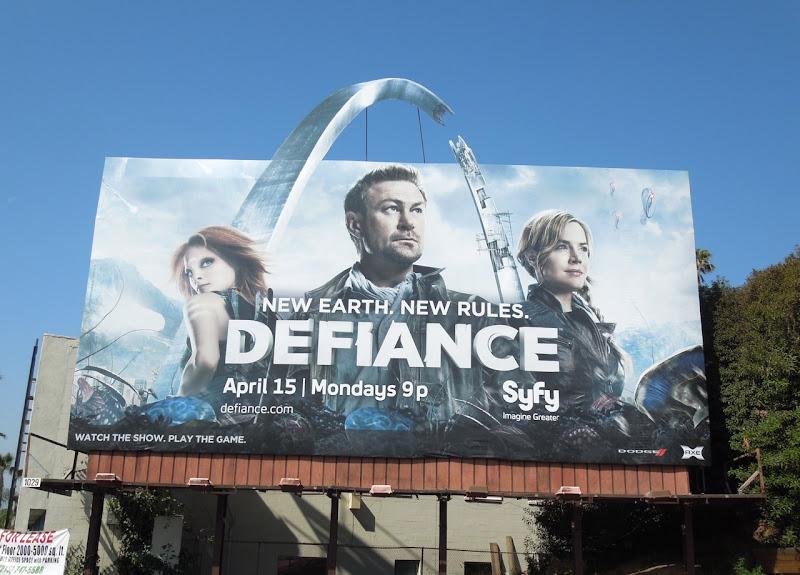 Defiance season 1 special extension billboard