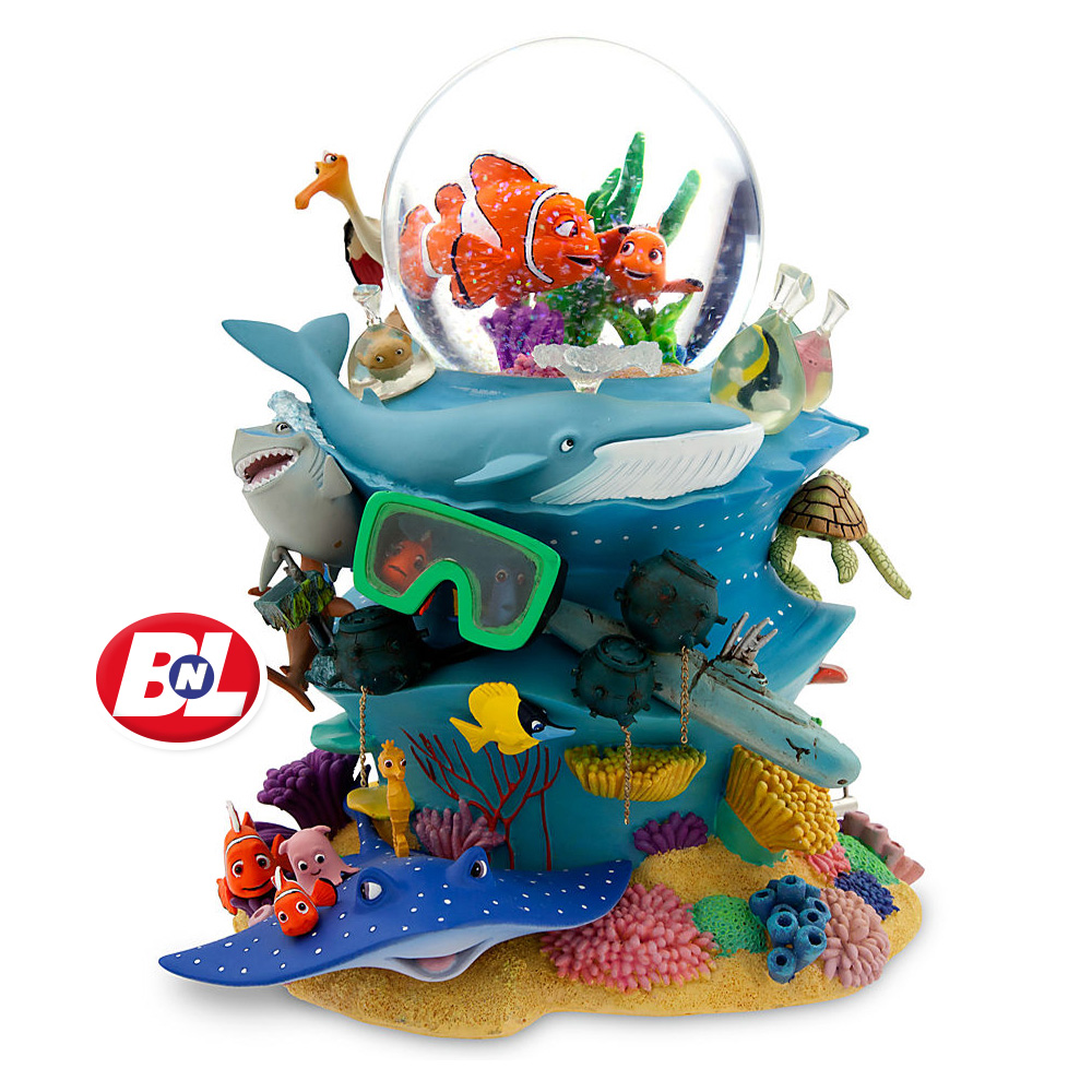 Welcome on buy n large finding nemo snowglobe for Disney fish names