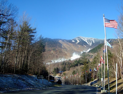 Whiteface Mountain as it appeared just before the start of the 2010-2011 season.
