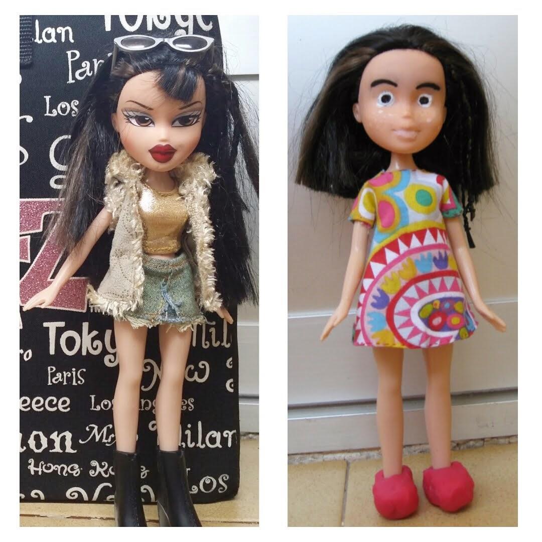 ¡Aunque no lo parezca, es la misma muñeca! EstereotiposVSrealidad