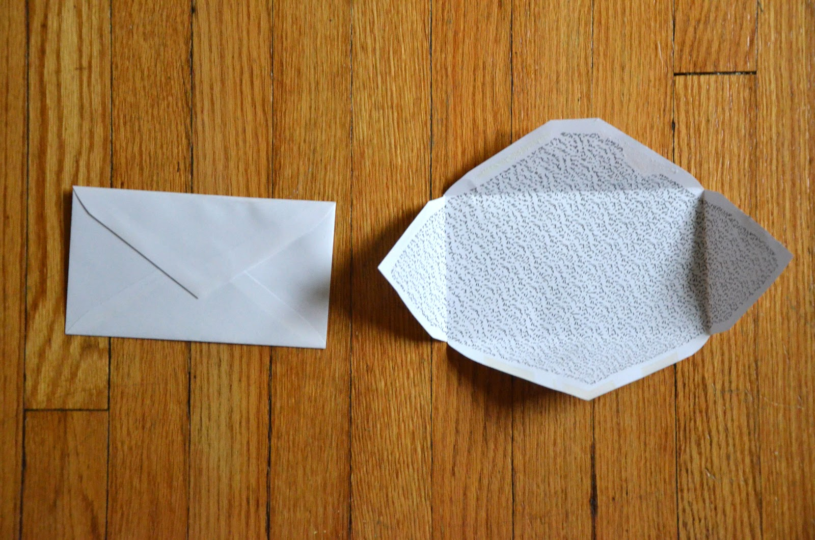 Hello There Handmade Banner: How-To: Make Your Own Envelopes