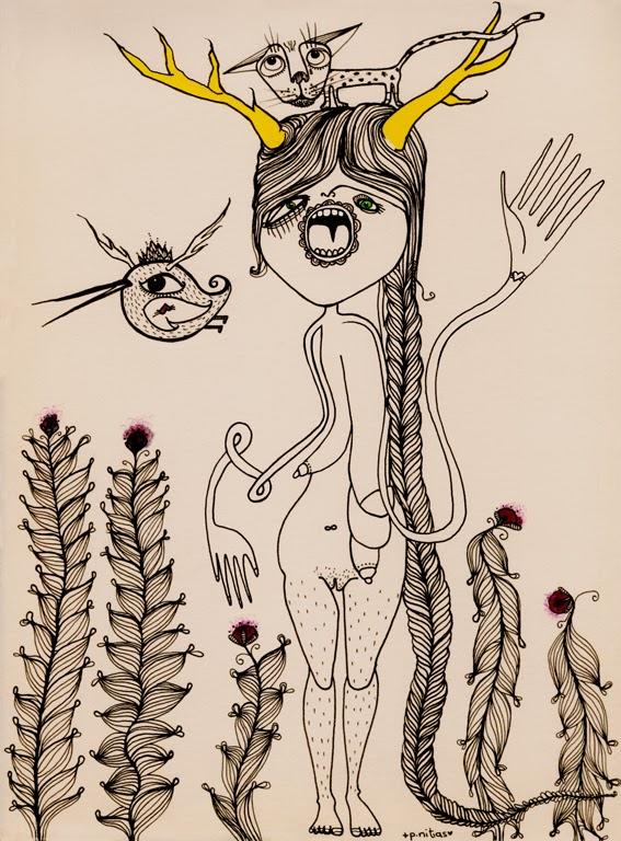 ©p.nitas - feminismo ilustrado. Ilustración | Illustration