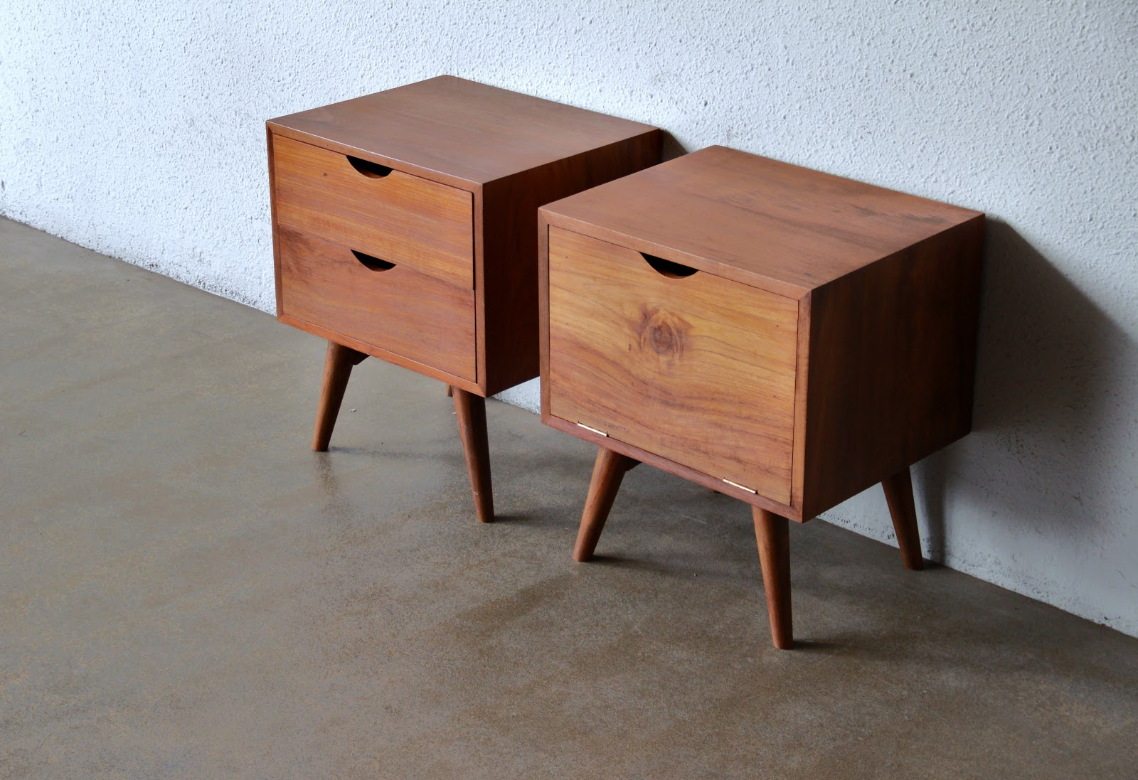 another mid century inspired bedside cabinets or night stands second charm furniture new shipment a