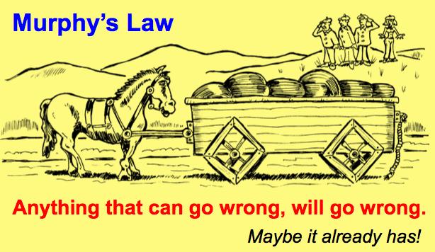 Antisipasi Resiko dengan Berpikir Antisipatif ala Murphys Law