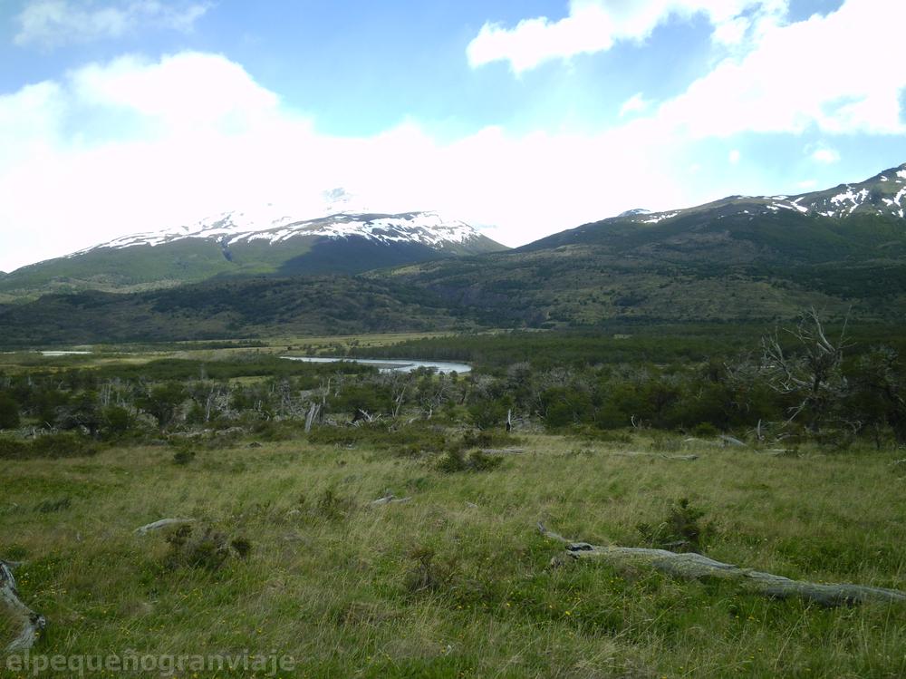 Parque Nacional Torres del Paine, Tramo Serón Dickson