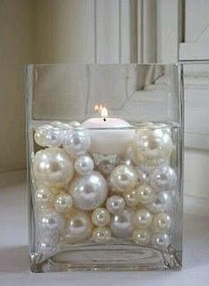 Centros de Mesa con Perlas, parte 1