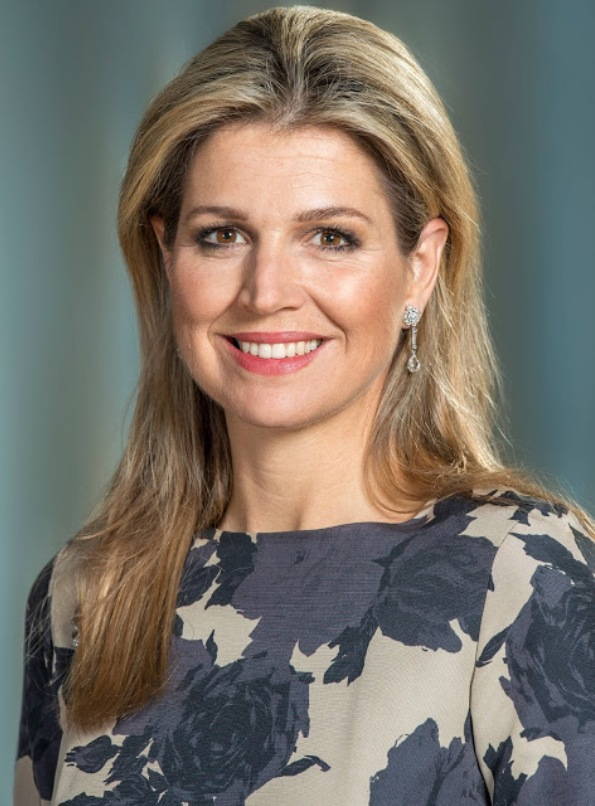 New Official Portraits Of Queen Maxima Of The Netherlands