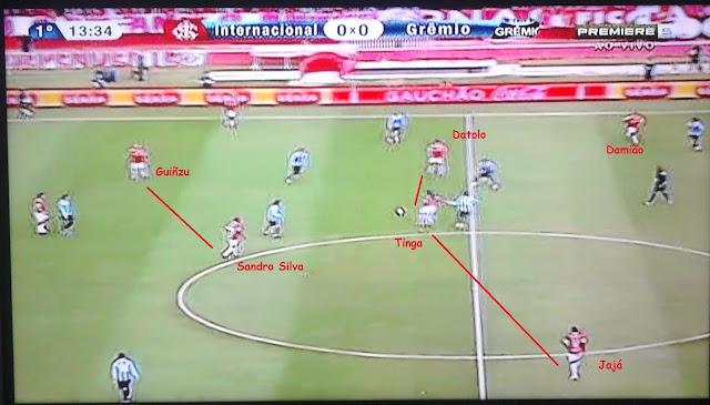 Inter no 4-2-3-1