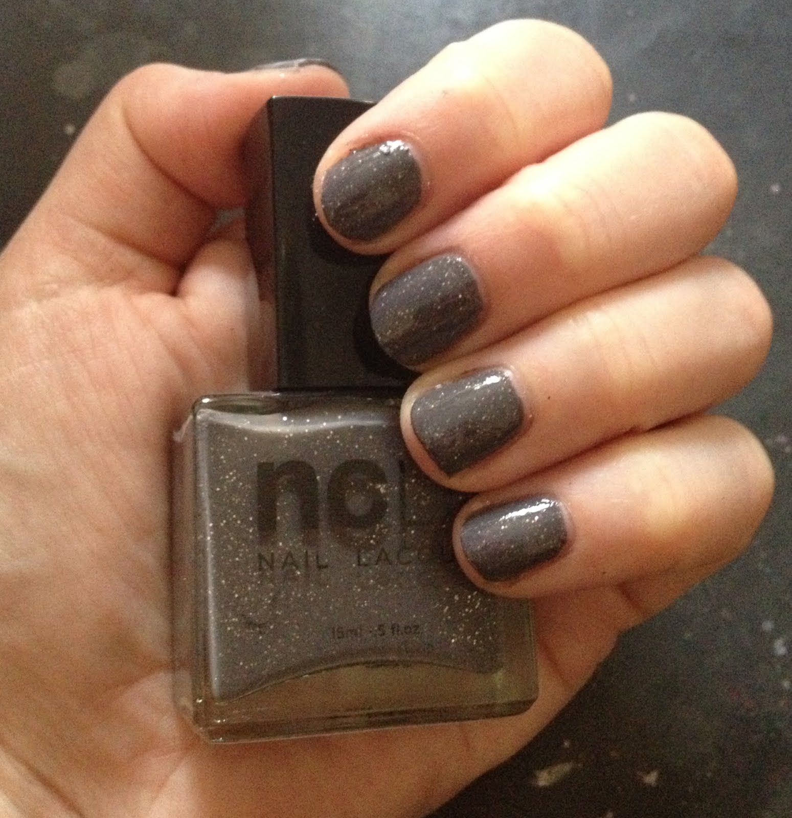 The Beauty of Life: My Latest Mani: NCLA Rock Solid