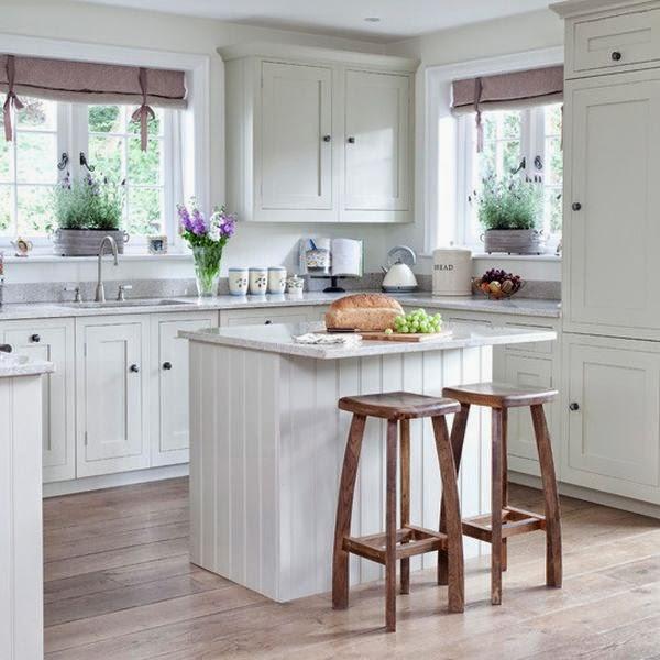 White Cottage Styled Kitchen - Home Design Ideas