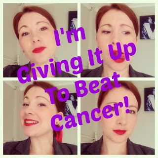 I'm Giving It Up To Beat Cancer!