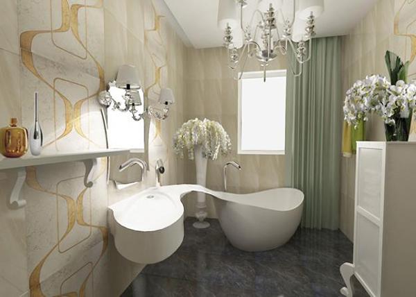 55 ideias para banheiros pequenos  Assuntos Criativos -> Arrumar Banheiro Pequeno