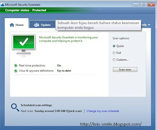 Antivirus Microsoft Security Essential