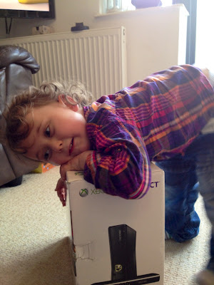 366 Project, toddler, Xbox
