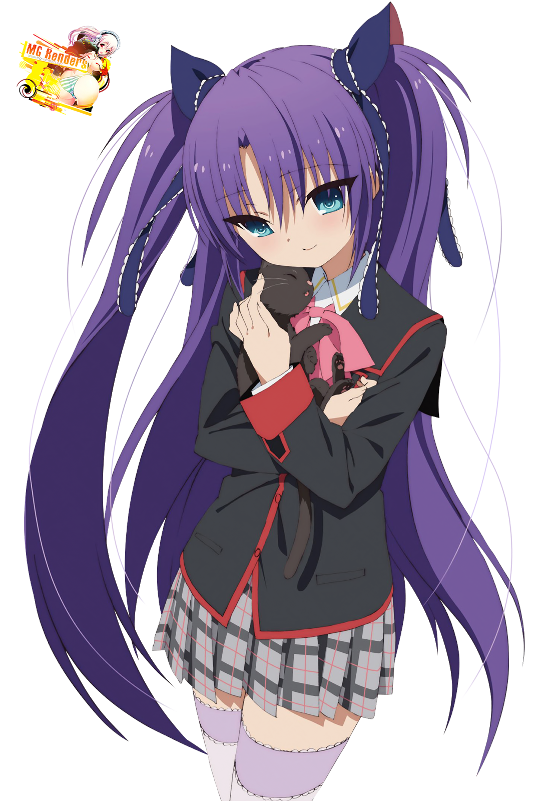 Tags: Anime, Render,  Little Busters,  Sasasegawa Sasami,  PNG, Image, Picture