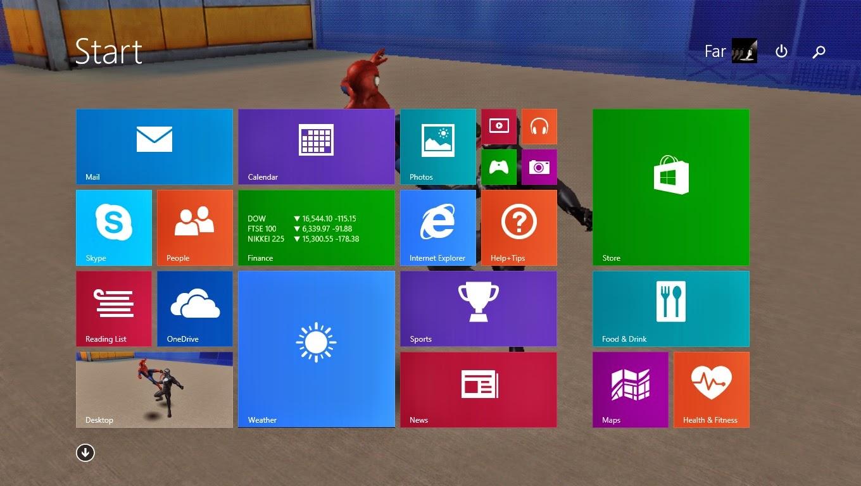 Keunikan Windows 8