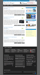 Thesis-Theme-For-Blogger-Homepage-Preview