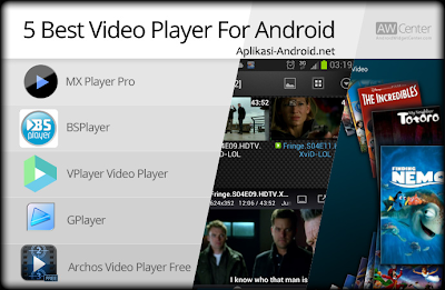 5 Aplikasi Pemutar Video Android