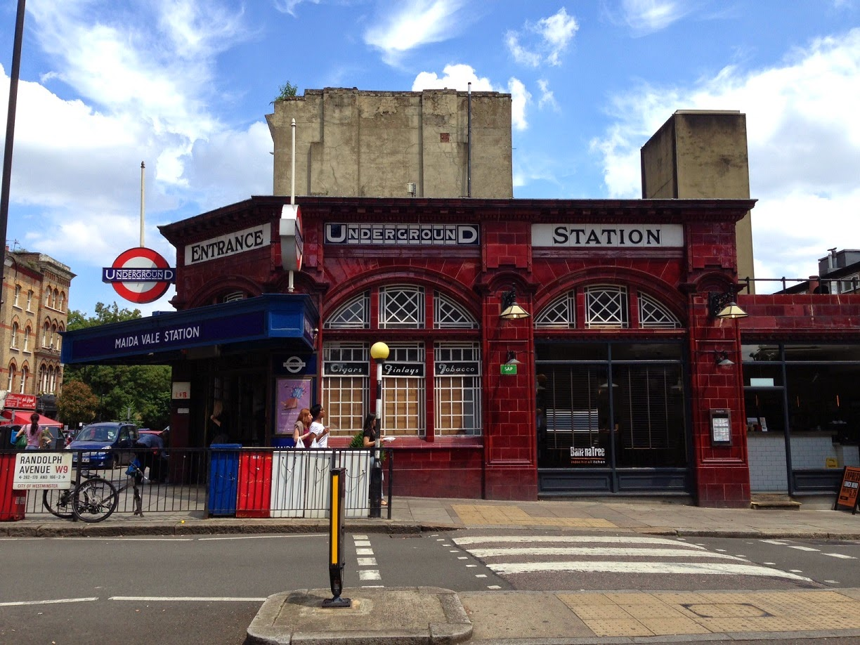Maida Vale underground station, London W9