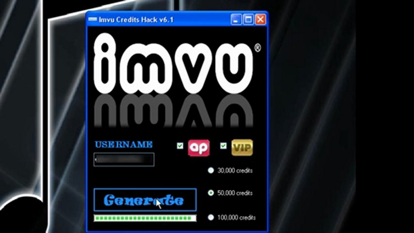 Imvu Credits Hack V6.1 New Version