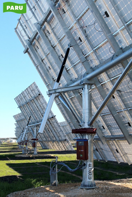[PARU Solar Tracker]PARU Dual Axis Tracker 0.1