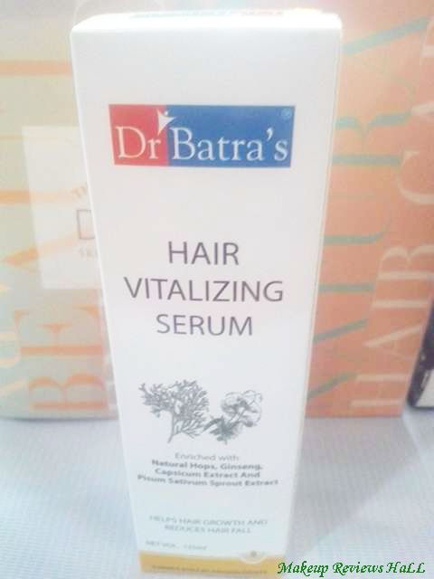 Dr. Batra's Hair Vitalizing Serum