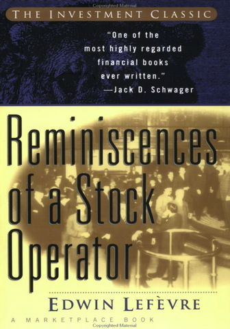reminiscences of a stock operator by edwin lefevre pdf