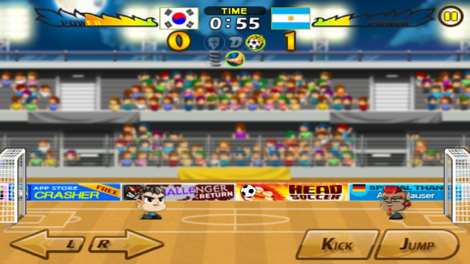 Head Soccer Android Futbol Oyunları