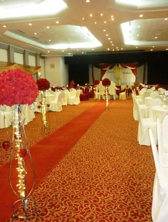 ballroom wedding