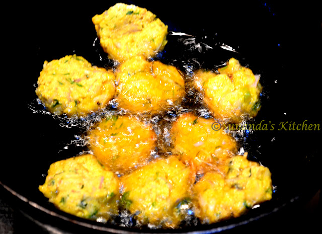Maachher dimer bora fish roe fritters by recipes from for Fish ball with roe