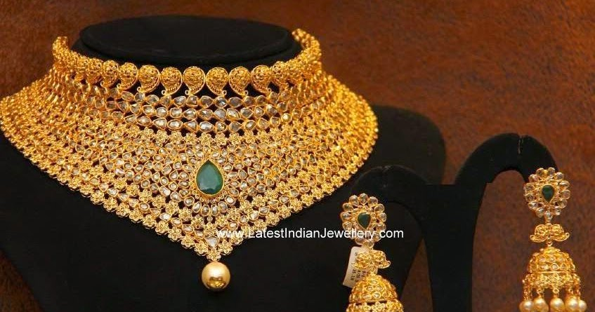 Wedding Jewellery With Uncuts
