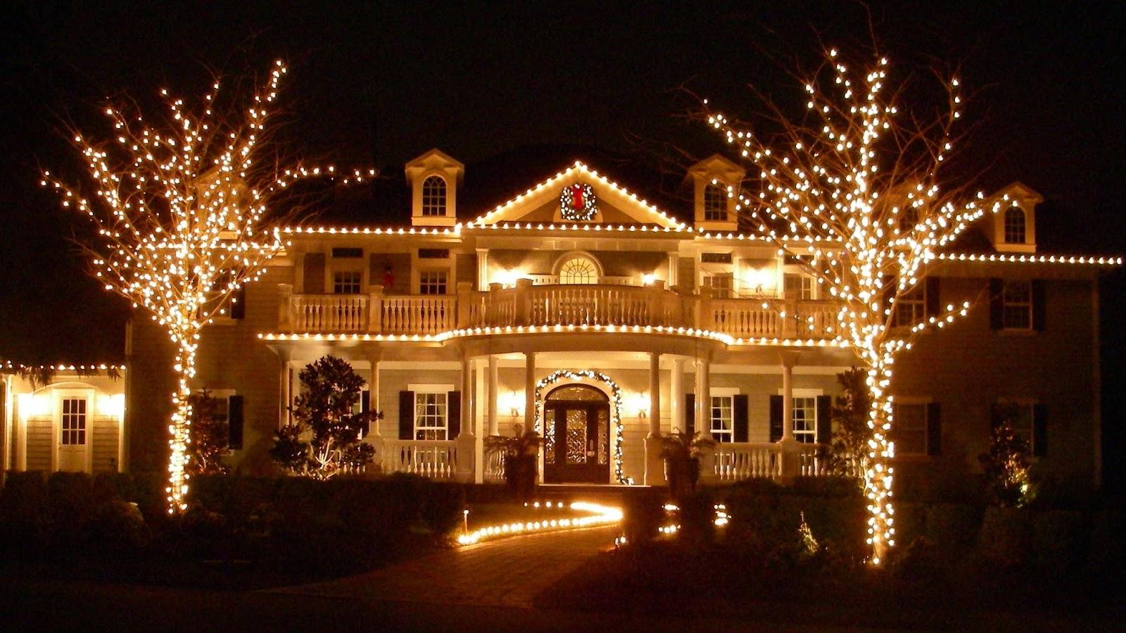 Decora o natalina para reas externas blog jba im veis for Christmas lights for house exterior