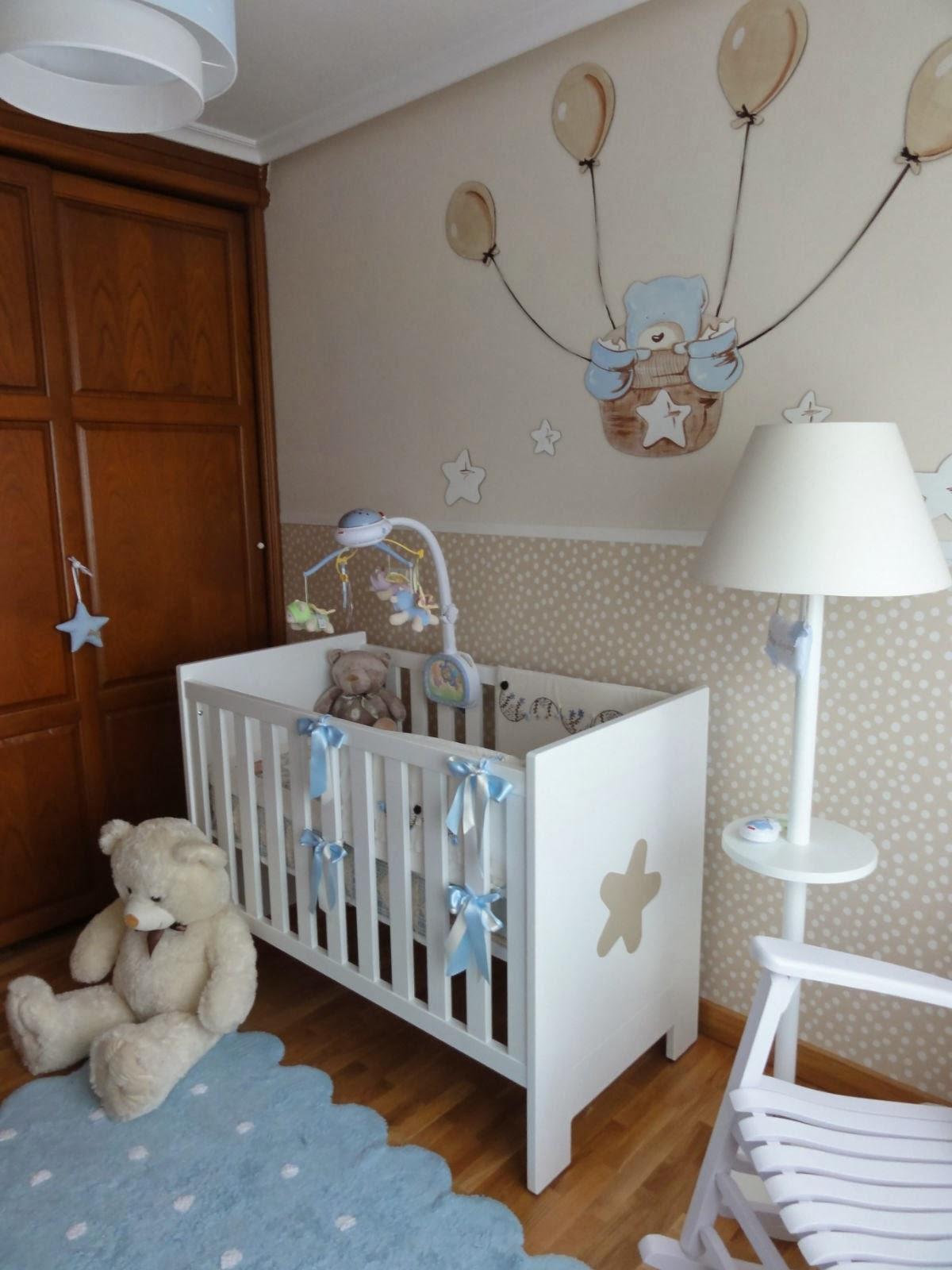 O blog d 39 a janelinha cores para quarto de beb azul - Papel para habitacion de bebe ...