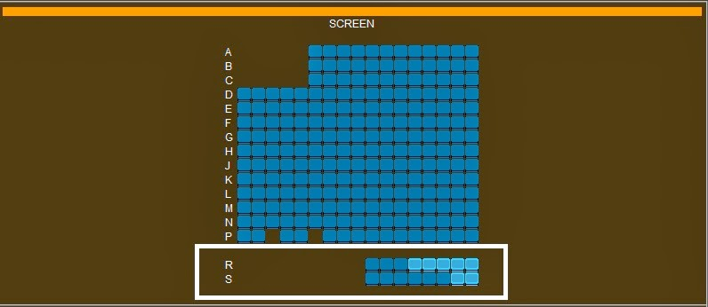 D-Box Seats Placement