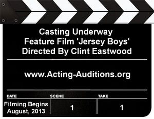 Jersey Boys Auditions and Casting Calls