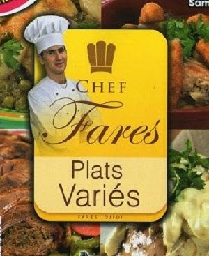 جديد كتاب الشيف فارس للأطباق المتنوعة لفارس الجيدي Chef+Fares+-+Plats+V